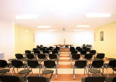 La sala incontri